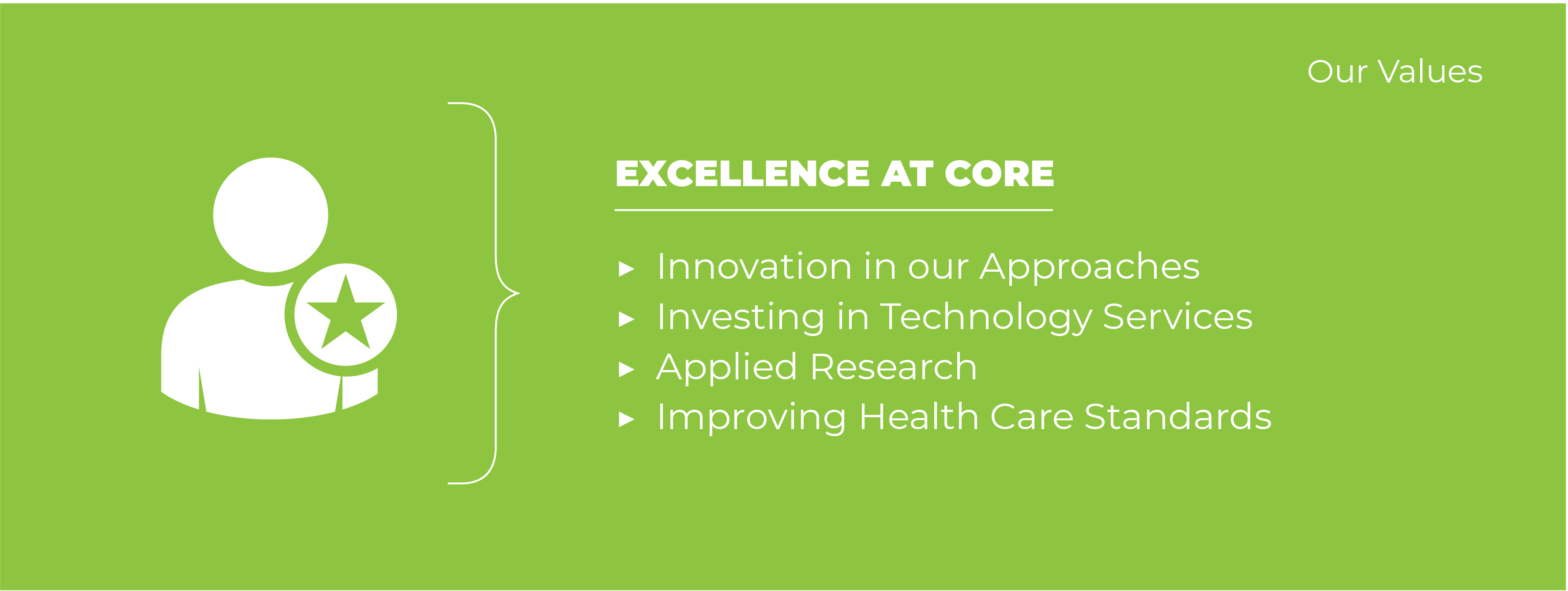 Excellence at Core