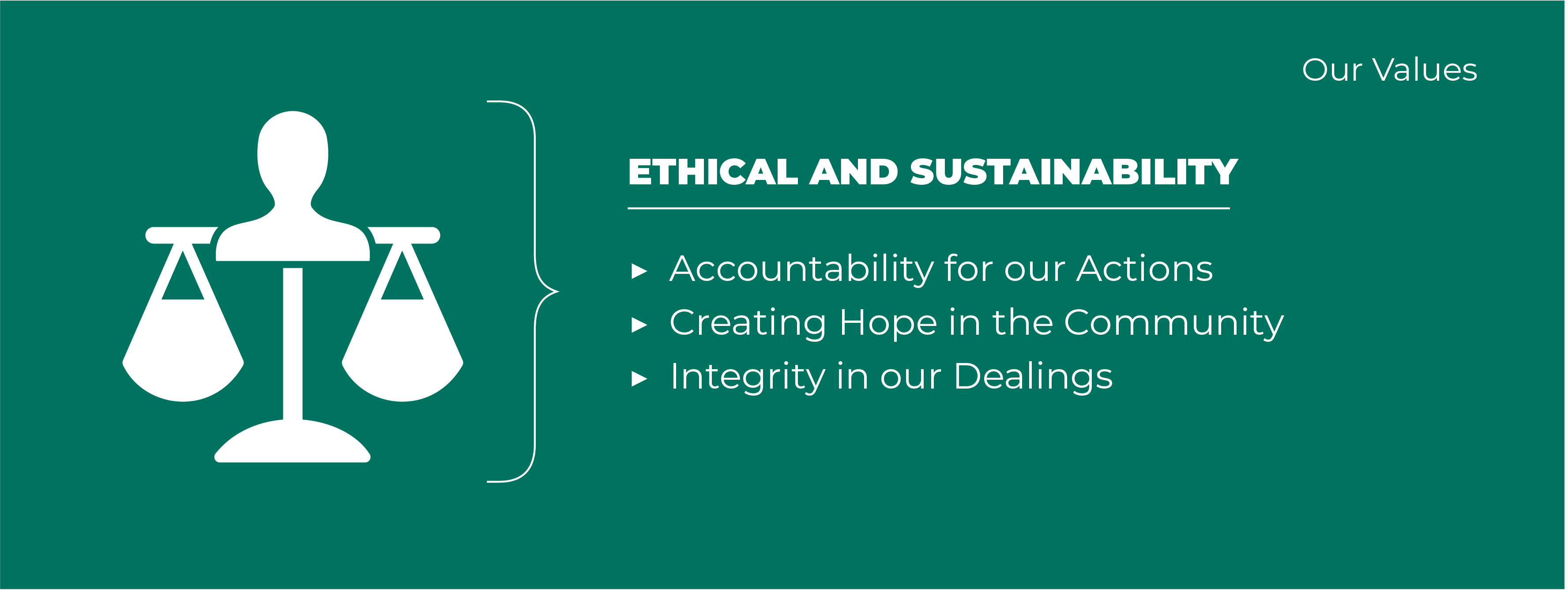 Ethical & Sustainable